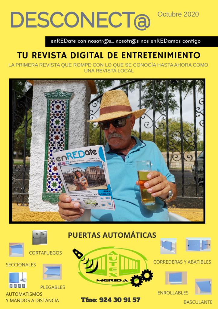 enREDate de Nueva Fusión. Desconect@. Publicidad Local. Mérida. Extremadura