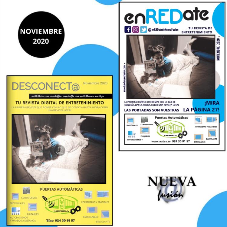 enREDate y desconect@ revista digital y revista extremeña de ocio y entretenimiento