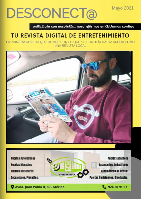 enREDate, enREDate y desconecta, Revista extremeña de ocio y entretenimiento, enredate de nueva fusión, publicidad, marketing, comunicación , soporte de papel en mérida